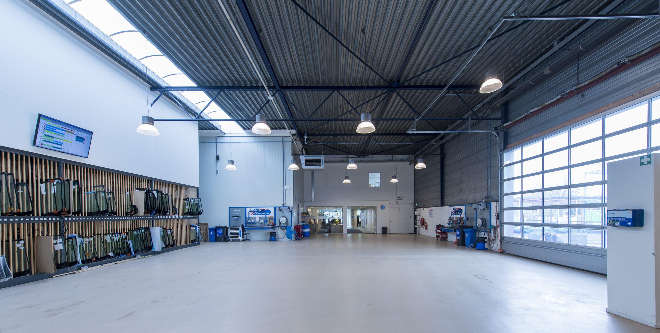 Werkplaats Autotaalglas Nieuwegein